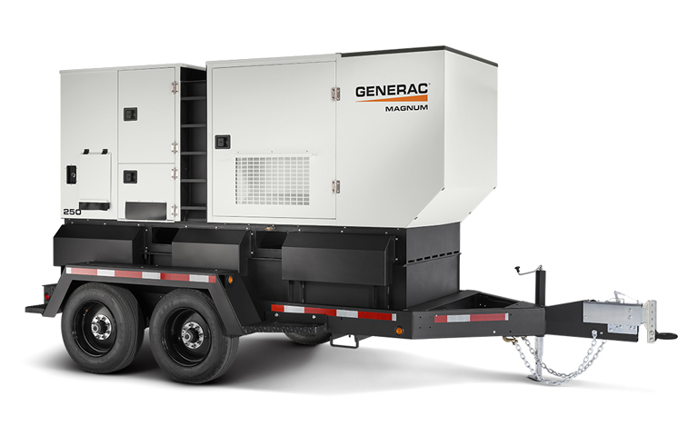 Contact Ranger Mining for Generac Magnum Light Towers, Generators and parts.