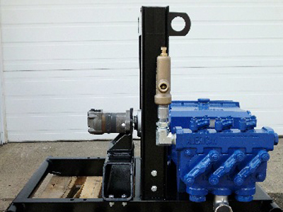 Ranger 435 Hydraulic Powered Mud Pressure Pump