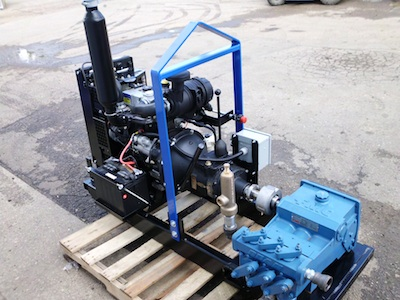 Ranger 420 Diesel Powered Mud Supply Pump