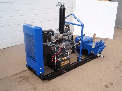 435 Diesel Powered Mud Supply Pump