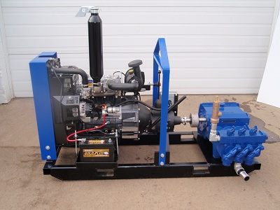 Ranger 435 Diesel Powered Mud Pump