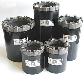 Geotechnical Core Bits from Ranger Mining Equipment Ltd