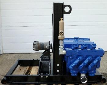 Ranger 450 Hydraulic Powered Mud Pressure Pump