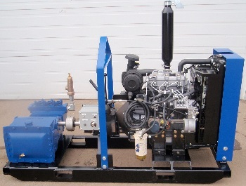 Ranger 435 Diesel Powered Mud Supply Pump