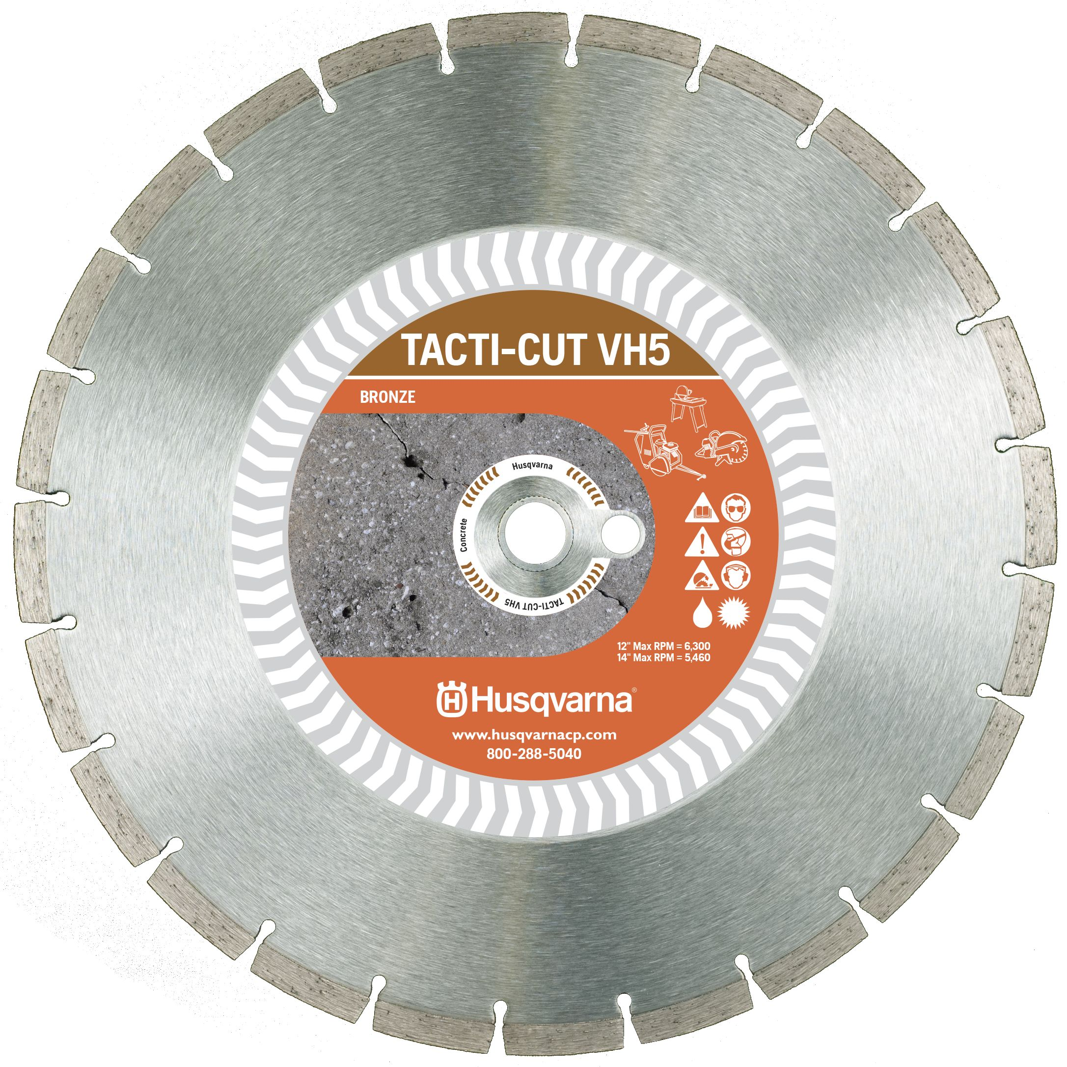 Husqvarna VH5 Segmented Diamond Blade  available from Ranger Mining Equipment Ltd