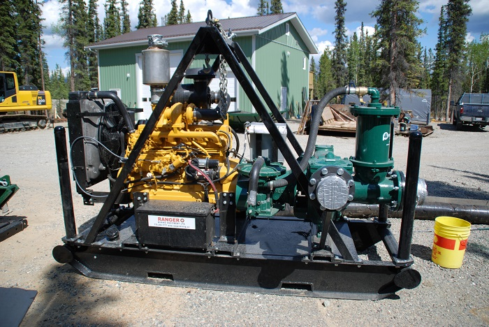 Pioneer PP86S17 Solids Handling Pump Package from Ranger Mining