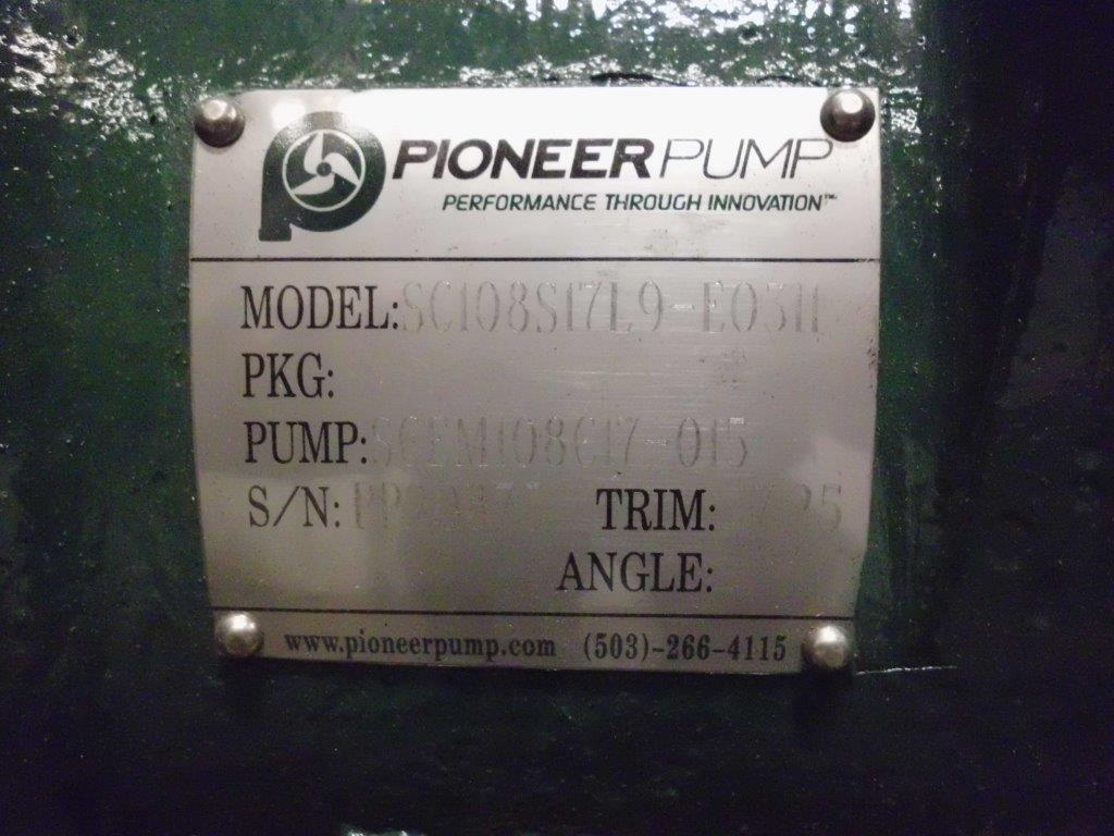 Pioneer SC108S17 Standard Centriugal Pump from Ranger Mining